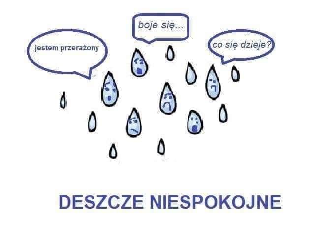 deszcze niespokojne