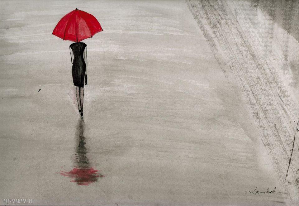 Dawka deszczowej sztuki. Deszcz, to coraz bardziej luksus